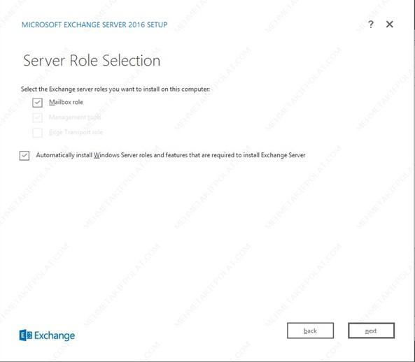 Exchange Server 2016 Kurulumu, Akif Polat